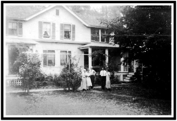 Eggleston home, Woodcliff Lake, NJ, c.1915.r